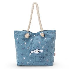 9586fcfdc3f7 Lisa and Gaspard x Hello Kitty Tote Bag Concert Sanrio Kawaii Japan ...