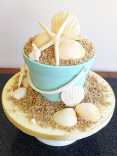 seaside bucket and shell 100 percent edible novelty cake Lobster Cake, Cupcake Cakes, Cupcakes, Designer Cakes, Novelty Cakes, Cake Designs, Seaside, Wedding Cakes, Shell