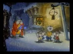 "Peace on Earth is a one-reel 1939 Metro-Goldwyn-Mayer cartoon short directed by Hugh Harman, about a post-apocalyptic world populated only by animals.    Two young squirrels ask their grandfather on Christmas Eve who the ""men"" are in the lyric ""Peace on Earth, good will to men."" The grandfather squirrel then tells them a rotoscoped history of th..."