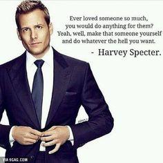 Harvey Specter way