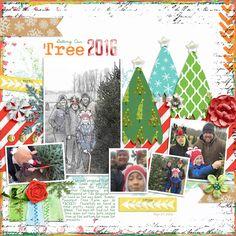 Getting Our Tree 2016 - Scrapbook.com