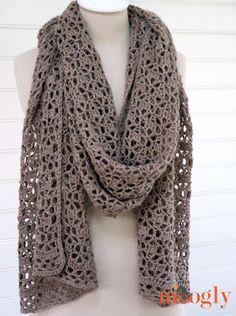 Fiber Flux: Autumn Shawls...12 Free Crochet Patterns