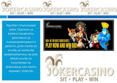 https://flic.kr/p/Yjmfqs | videohedelmäpelit, jackpot-hedelmäpelit, rahapelit | Follow us : www.jokercasino.com/fi  Follow us : followus.com/rahapelit  Follow us : videohedelmapelit.wordpress.com