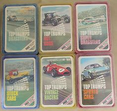 Top Trumps - Hot-Rods: Stat based category game.
