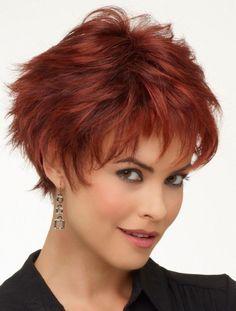 Short Red Wig