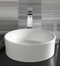 DXV by American Standard Golden Era Pop Round Vessel Sink | Sponsor of the Remodelista Markets