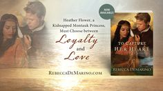 Book Bites, Bee Stings, & Butterfly Kisses: Author interview, recipe, and giveaway!- Enter to win a great historical read To Capture Her Heart by @rebeccademarino