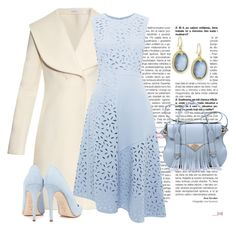 """""""azul"""" by ebramos ❤ liked on Polyvore featuring J.W. Anderson, Whistles, Dee Keller, Ella Rabener and Armenta"""