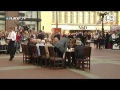 Koning Willy in Groningen - LuckyTV