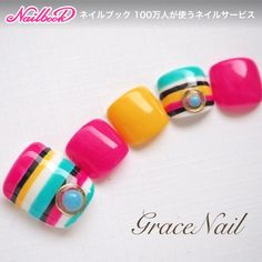 Cute for summer Pretty Toe Nails, Cute Toe Nails, Gorgeous Nails, Manicure, Pedicure Nails, Gel Nails, Pedicure Designs, Toe Nail Designs, Hawaiian Nails