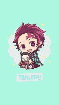 Fan Art chibi - Kimetsu No Yaiba so cute Kawaii Anime, Cute Anime Chibi, Chibi Wallpaper, Cute Anime Wallpaper, Aztec Wallpaper, Pink Wallpaper, Screen Wallpaper, Demon Slayer, Slayer Anime