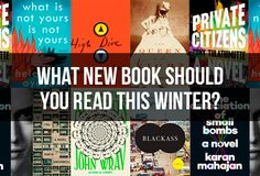 It's cold outside, so curl up with one of these new books.