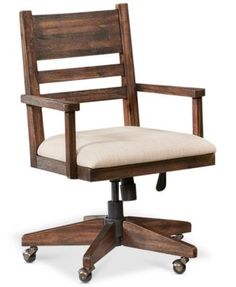 Avondale Home Office Desk Chair Home Office Desks, Home Office Furniture, Furniture Design, Office Chairs, Furniture Dolly, Cheap Desk Chairs, Cool Chairs, Dining Chairs, Blue Chairs