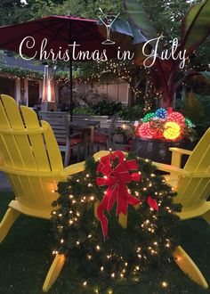 Christmas in July Invitation. Picture of our garden used for Paperless Post invitation. Christmas in July Invitation. Picture of our garden used for Paperless Post invitation. Half Christmas, Summer Christmas, Christmas Games, Christmas Pictures, White Christmas, Christmas Birthday Party, July Birthday, Birthday Ideas, Birthday Parties