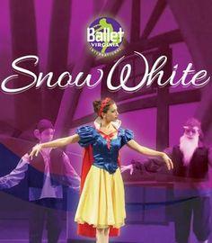 Ballet Virginia International presents: Snow White Virginia Beach, VA #Kids #Events