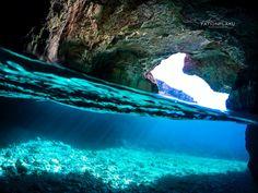 Dafina Cave. Karaburun Peninsula. Vlore. Albania
