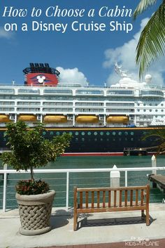 How to Choose a Cabin on a Disney Cruise Ship! If you're a first time Disney cruiser, here's some info on the type of cabins you'll find on a Disney cruise ship and a few things to consider before you make your stateroom selection. Cruise Travel, Cruise Vacation, Disney Vacations, Vacation Destinations, Cruise Tips, Vacation Ideas, Disney Travel, Family Vacations, Family Travel