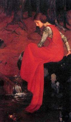 Mélisande, Marianne Stokes 1895-98