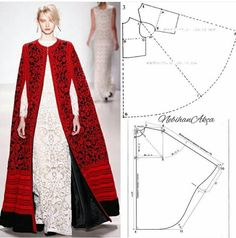 Amazing Sewing Patterns Clone Your Clothes Ideas. Enchanting Sewing Patterns Clone Your Clothes Ideas. Fashion Sewing, Diy Fashion, Ideias Fashion, Abaya Style, Dress Sewing Patterns, Clothing Patterns, Sewing Clothes, Diy Clothes, Abaya Mode