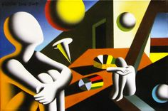 Mark Kostabi, Navigating the Infinite available at #gallartcom