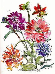 Laurelines; paintings and drawings