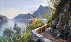 Peder Mork Mønsted | Plein air / Genre painter | Part. 5 | Tutt'Art@