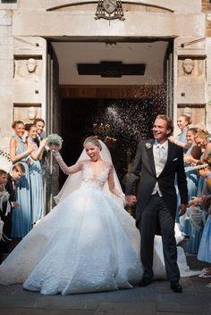 This Swarovski Heiress's Million-Dollar Wedding Dress Shines Brighter Than a Diamond