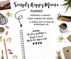 The Simply Happy Mama Planner is a Printable Planner to help keep your life organized! This Printable Planner has tons of Planner Printables for Moms! Printable Planner, Printables, Mom Planner, Blogger Tips, Life Organization, Mom Blogs, Take Care Of Yourself, Parenting Hacks, Activities For Kids