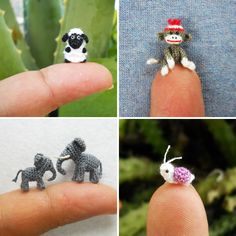 Miniature Crocheted Animals | BritList