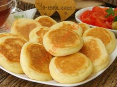 Discover recipes, home ideas, Breakfast Items, Breakfast Recipes, Snack Recipes, Turkish Recipes, Greek Recipes, Cookbook Recipes, Cooking Recipes, Good Food, Yummy Food
