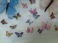 Crea y Aprende Manualidades : flores y mariposas
