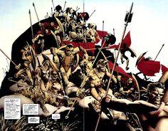 24 – Frank Miller's 300 Graphic Novel Frank Miller Art, Frank Miller Comics, Green Lantern Comics, Arabian Art, Comic Book Artists, Comic Books, Dark Horse, Art Google, Graphic Novels