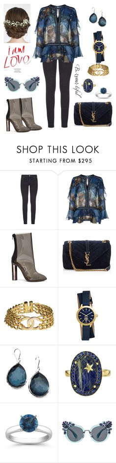 """Shopping Sprees"" by iffieluv ❤ liked on Polyvore featuring Paige Denim, Alberta Ferretti, adidas, Yves Saint Laurent, Chanel, Tory Burch, Ippolita, Andrea Fohrman and Miu Miu"