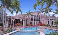 Montsorrel model estate home for sale in Old Palm Golf Club at 11733 Valeros Court, Palm Beach Gardens, FL 33418