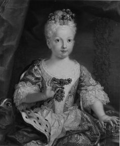 Portrait of the Infanta Maria Ana Victoria de Borbón