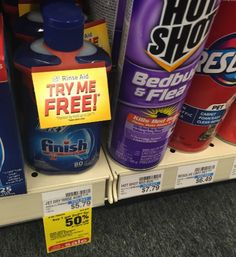 FREE Finish Jet Dry At CVS! | Closet of Free Samples | Get FREE Samples by Mail | Free Stuff