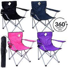 Camping #chair outdoor #fishing garden folding #foldable seat portable lightweigh, View more on the LINK: http://www.zeppy.io/product/gb/2/142075575456/