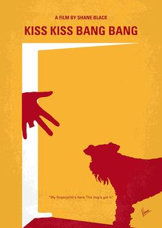 Kiss Kiss Bang Bang (2005) ~ Minimal Movie Poster by Chungkong #amusementphile