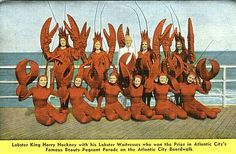 Lobster King, Harry Hackney & His Beautiful Lobster Waitresses