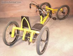 Or should I pick up the plans and build a StreetFighter Recumbent Racing QuadCycle?    Link to purchase plans.
