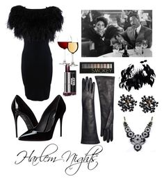 """Harlem Nights"" by sequayah-chaney on Polyvore featuring Dolce&Gabbana, Giambattista Valli, SHOUROUK, Brooks Brothers and Forever 21"