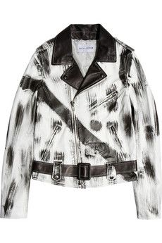 EACH X OTHER leather jacket (more leather jackets --> http://chicityfashion.com/leather-jackets/)