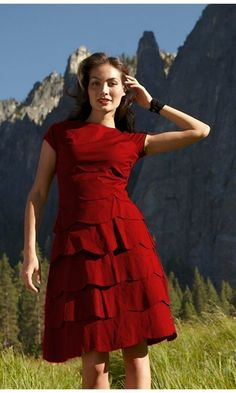 Red Fox Dress / Shabby Apple