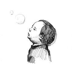 Davidino e le bolle di sapone