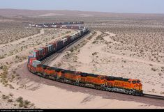 RailPictures.Net Photo: 7108 BNSF Railway GE ES44C4 at Ludlow, California by Paul Sykes