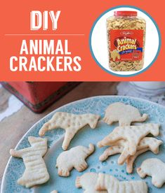 Homemade Animal Crackers 27 Classic Snacks You'll Never Have To Buy Again Baby Food Recipes, Sweet Recipes, Snack Recipes, Dessert Recipes, Paleo Recipes, Cooking Recipes, Animal Crackers, Animal Snacks, Chocolates