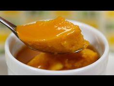 Halloween Pumpkin Pudding Recipe ハロウィンのパンプキンプリン 作り方レシピ - YouTube