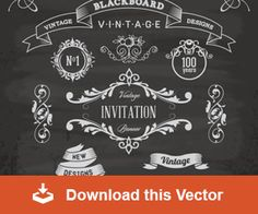 6 Free Customizable Retro/Vintage Logos and Emblems (vectors)