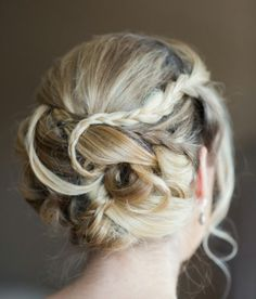 Updo wedding prom formal hair
