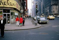 New York City, 1967 © John Williamson.  FuckYeahVintage-Retro